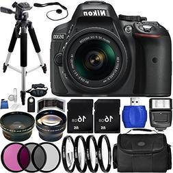 Nikon D5300 DSLR Camera  Bundle with 18-55mm f/3.5-5.6G VR A