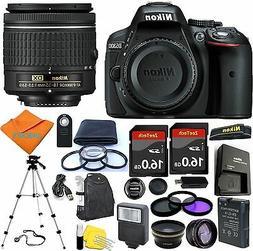 Nikon D5300 DSLR Camera + 18-55mm VR NIKKOR Lens + 30 Piece