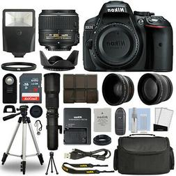 d5300 dslr camera 4 lens 18 55mm