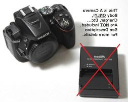 d5300 dslr camera body only free s