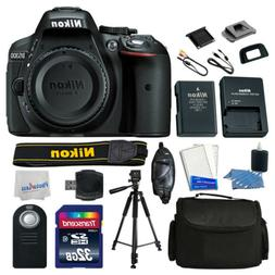 Nikon D5300 DSLR Camera Top Value Accessory Kit: Remote +Bag