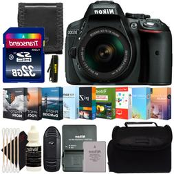 Nikon D5300 DSLR Camera w/ 18-55mm Lens and Photo and Video