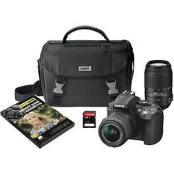 Nikon D5300 DX-Format Digital SLR Kit w/ 18-55mm VR II and 5