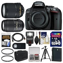 Nikon D5300 Digital SLR Camera Body  with 18-140mm VR Zoom L