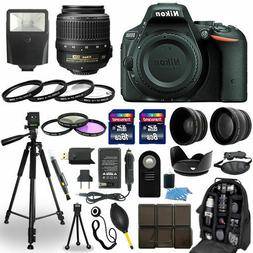 Nikon D5500 DSLR Camera + 18-55mm VR NIKKOR Lens + 30 Piece