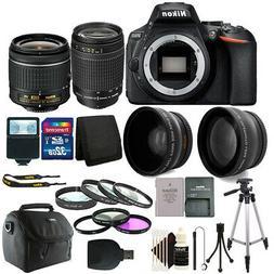 Nikon D5600 24.2 MP D-SLR Camera + 18-55mm & 70-300mm Lens +