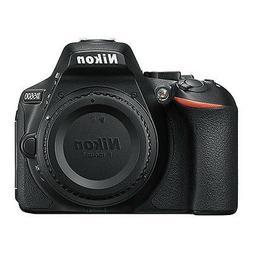 Nikon D5600 24.2 MP DX-Format CMOS Digital SLR Camera Body B