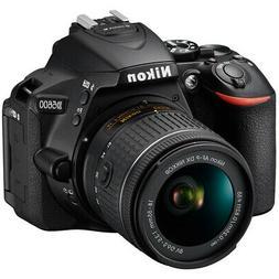Nikon D5600 24.2MP DX Digital SLR Camera + AF-P 18-55mm f3.5