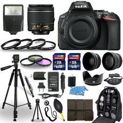 Nikon D5600 DSLR Camera + 18-55mm VR NIKKOR Lens + 30 Piece