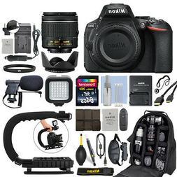 Nikon D5600 Digital SLR Camera with 18-55mm VR Lens + 64GB P