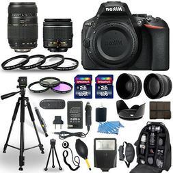 Nikon D5600 Kit with AF-P DX NIKKOR 18-55mm f/3.5-5.6G VR Le