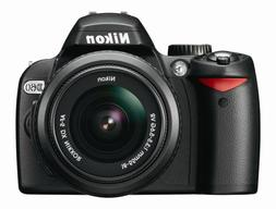 Nikon D60 DSLR Camera with 18-55mm f/3.5-5.6G Auto Focus-S N