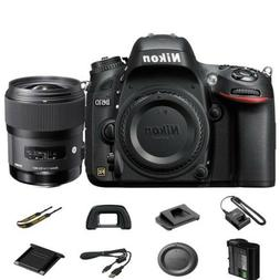 Nikon D610 FX-format 24.3 MP 1080p video Digital SLR Camera