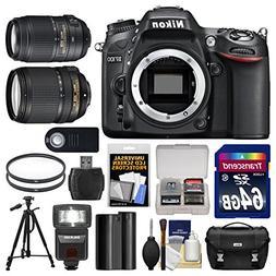 Nikon D7100 Digital SLR Camera Body with 18-140mm & 55-300mm