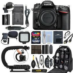Nikon D7200 24.2 MP Digital SLR Camera Body + 64GB Pro Video