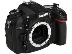 Nikon D7200 24.2MP Black DSLR Camera - Body Only