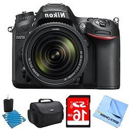 Nikon D7200 DX-Format 24.2MP Digital HD-SLR Camera w/18-140m