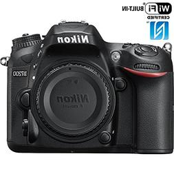 Nikon D7200 24.2 MP DX-Format Digital SLR Body with Wi-Fi an