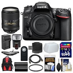 Nikon D7200 Wi-Fi Digital SLR Camera Body with 18-300mm VR L