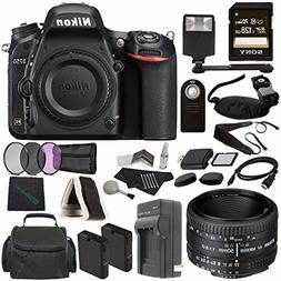 Nikon D750 DSLR Camera  + Nikon AF NIKKOR 50mm f/1.8D Lens +