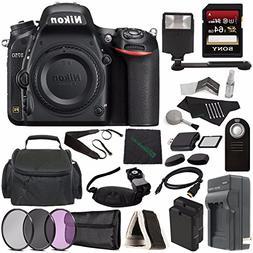 Nikon D750 DSLR Camera  + 77mm 3 Piece Filter Set  + Battery