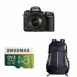 Nikon D750 FX-format Digital SLR Camera w 24-120mm f4G ED VR