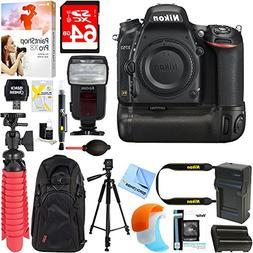 Nikon D750 FX-Format 24.3MP DSLR Camera  + Deluxe Power Batt