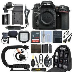 Nikon D7500 20.9 MP 4K Digital SLR Camera Body + 64GB Pro Vi
