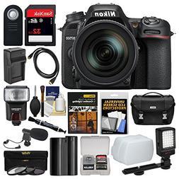 Nikon D7500 Wi-Fi 4K Digital SLR Camera with 18-300mm VR DX
