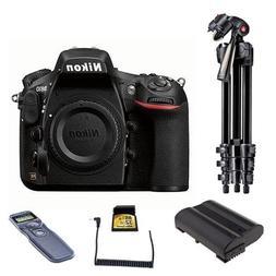 Nikon D810 Digital SLR Body Only Camera, 36.3MP - Bundle Wit