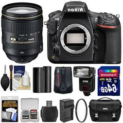 Nikon D810 Digital SLR Camera & 24-120mm f/4 VR Lens with 64