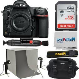 Nikon D850 45.7MP DSLR Camera Body + Studio Lighting Kit + 3