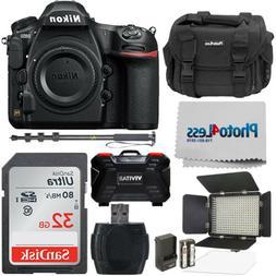 Nikon D850 45.7MP DSLR Camera Body + Studio Video Lighting K