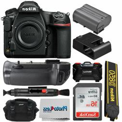 Nikon D850 Digital SLR Camera Body 45.7MP 4K FX-format + Bat