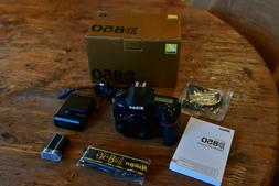 Nikon D850 FX-format Digital SLR Camera Body 45.7MP 4K UHD I