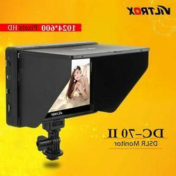 "Viltrox DC-70Ⅱ 7"" Inch Clip-on LCD HD Monitor AV Input for"