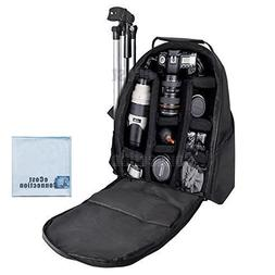 Deluxe Digital Camera / Video Padded Backpack For Nikon, Can
