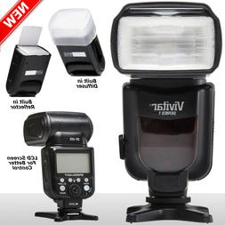 Vivitar DF-252 DSLR TTL Flash for Nikon D5500 D5300 D5200 D3