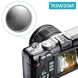 Neewer® 11mm Diameter Silver Concave Metal Soft Shutter Rel