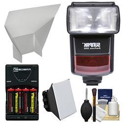 Sunpak DigiFlash 3000 E-TTL II Electronic Flash Unit with So