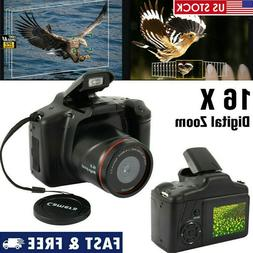 Digital Camera Vlogging Video SLR Camera 3.0 Inch 16x Zoom 1