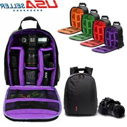 Digital Camera Waterproof Sling Backpack Shoulder Bag for Ca