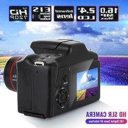 Digital HD SLR Camera 2.4 Inch TFT LCD Screen 1080P 16X Zoom