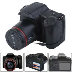 Digital SLR Camera 2.4 Inch TFT LCD Screen 1080P 16X Zoom An