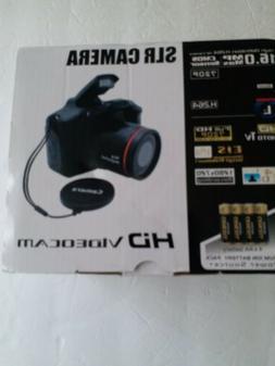 Digital SLR Camera 2.4 Inch TFT LCD Screen 1080P 16X Zoom An