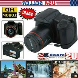 Digital SLR Camera 2.4Inch TFT LCD Screen 16XZoom 16MP 1080P