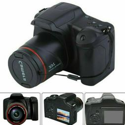 Digital SLR Camera 3 Inch TFT LCD Screen HD 16MP 1080P 16X Z