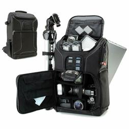 "USA GEAR Digital SLR Camera Backpack Case w/15.6"" Laptop Com"