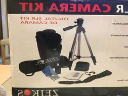 ZEIKOS Digital SLR Camera Kit 10-in-1 Accessories