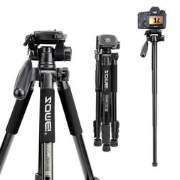ZOMEi Digital SLR Camera Tripod Monopod 2 in 1 Travel Portab